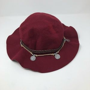 Free People Felt Boho Floppy Fisherman Hat One Sz.